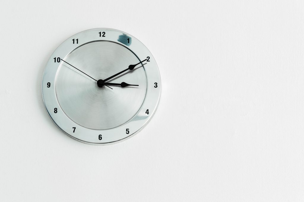 Wall clock - time is usually underestimated when planning a crowdfunding campaign