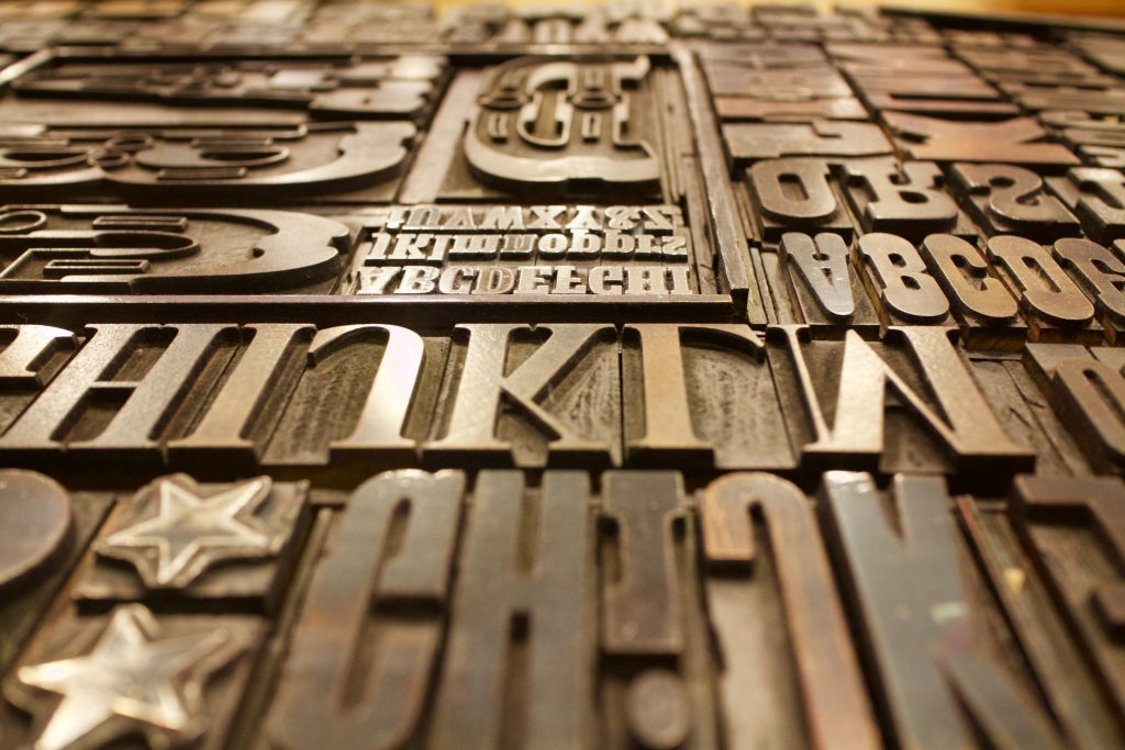 Typography is one of the elements of branding for equity crowdfunding (and in general!)